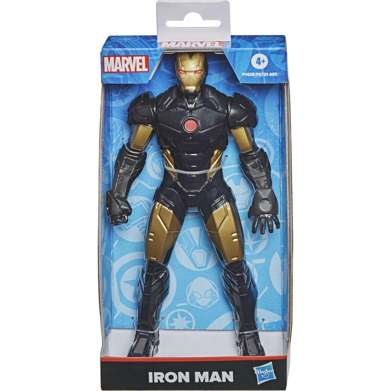Avengers Mvl 9.5in Figure Black Iron Man