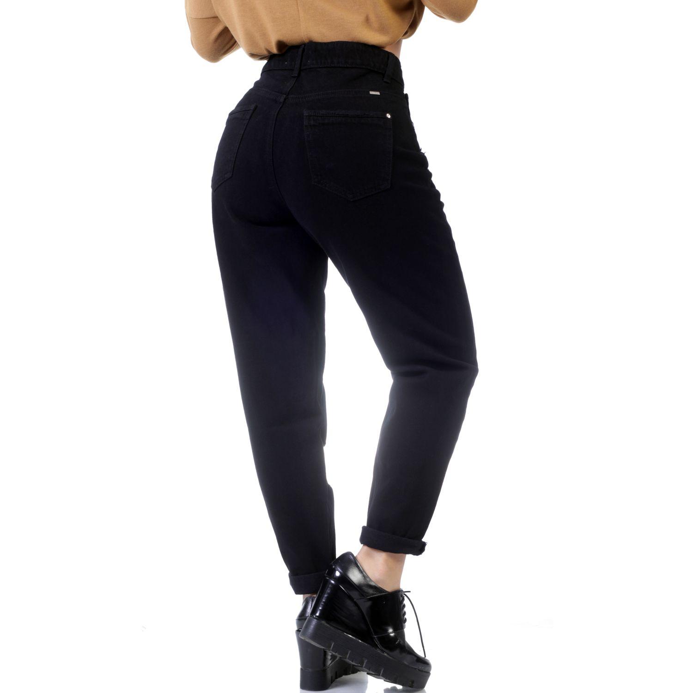FORDAN JEANS Pantalon Dama Mom Jeans