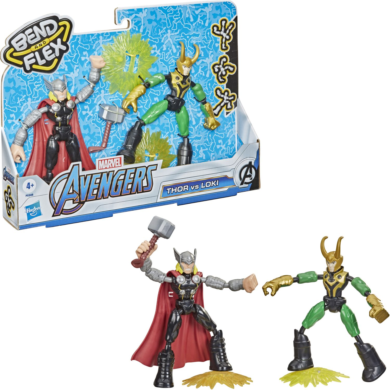 Avengers Avn Bend And Flex Thor Vs Loki