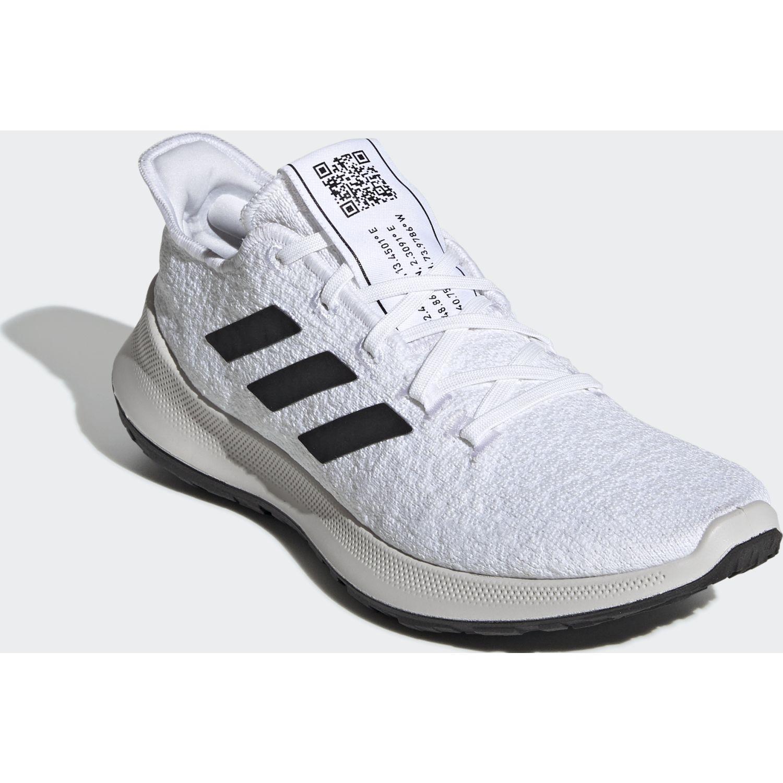 Adidas sensebounce + w Blanco / negro Running en pista