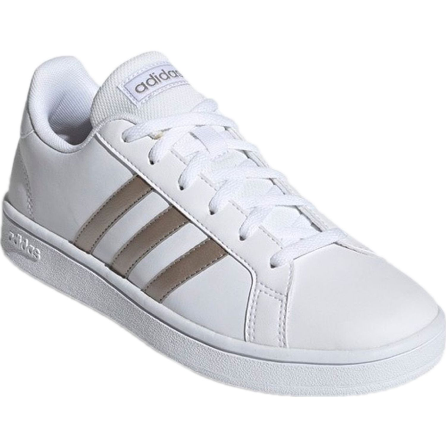 Adidas GRAND COURT BASE Blanco / dorado Mujeres