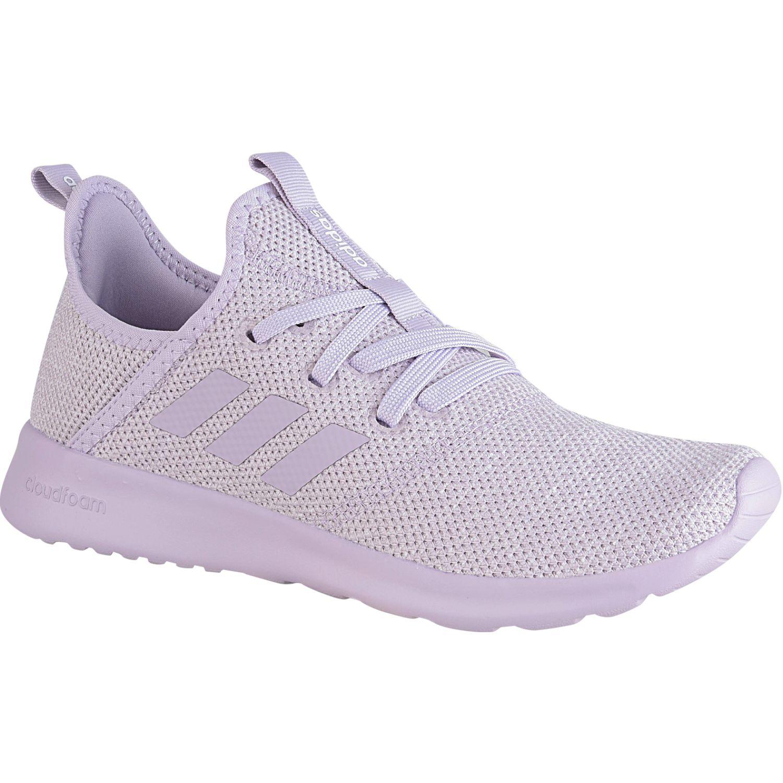 Adidas cloudfoam pure Lila Running en pista | platanitos.com