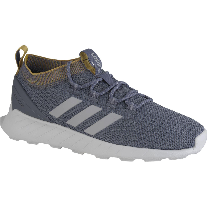 Adidas Questar Rise Plomo / negro Correr por carretera