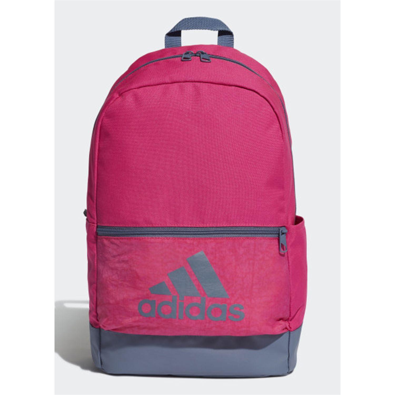 Adidas clas bp bos Fucsia / gris Mochilas Multipropósitos