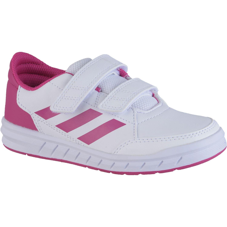 Adidas altasport cf k Blanco / rosado Chicas