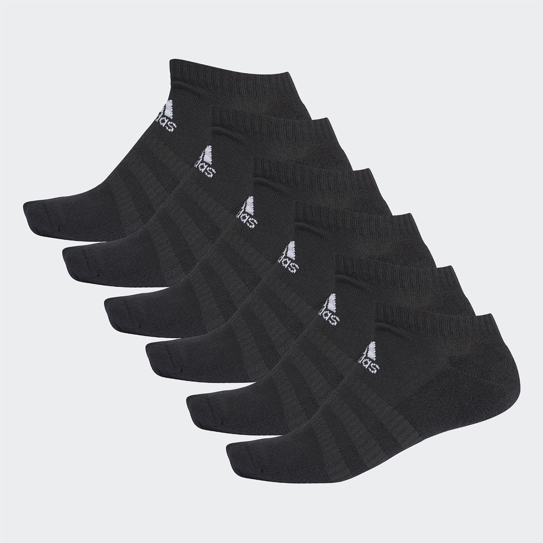 Adidas CUSH LOW 6PP Negro Medias Deportivas