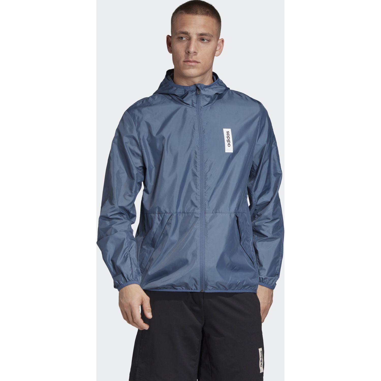 Adidas m bb windbr. Azul Casacas de Atletismo