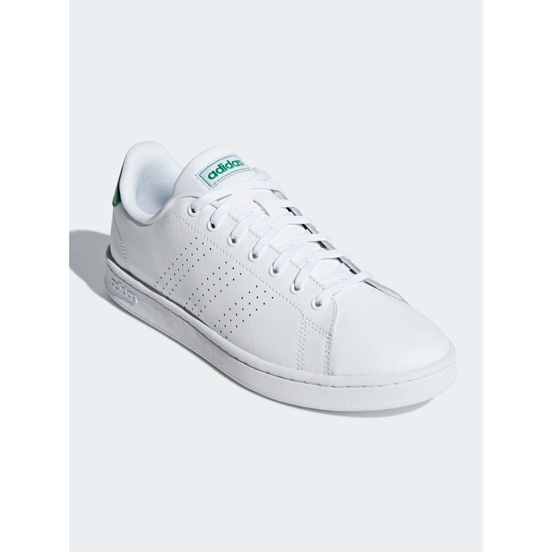Adidas Advantage Blanco / verde Para caminar