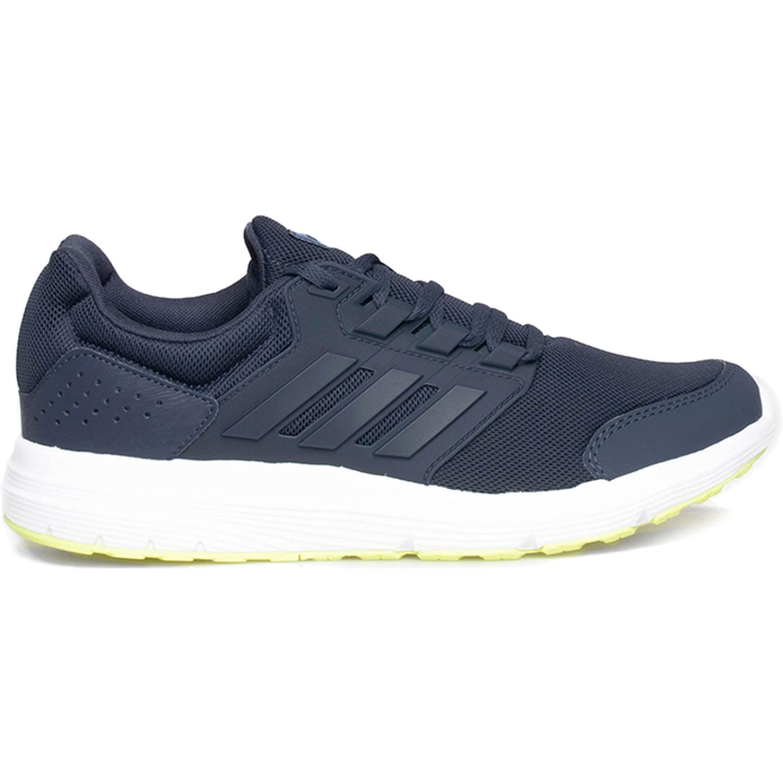 Adidas galaxy 4 Navy Running en pista