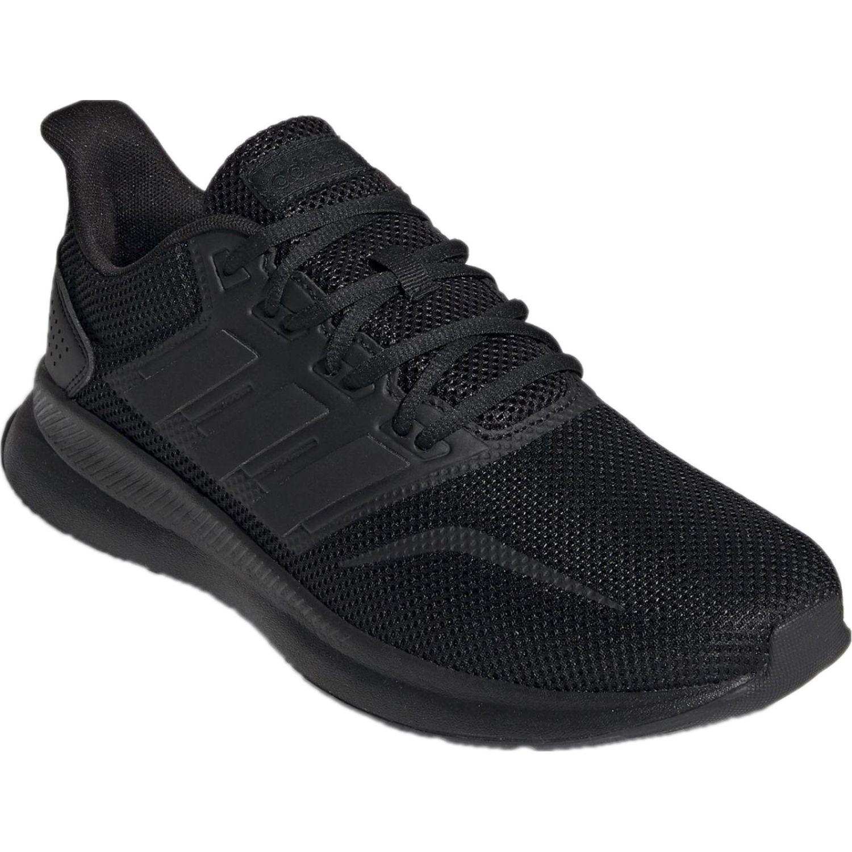 Adidas runfalcon Negro Running en pista
