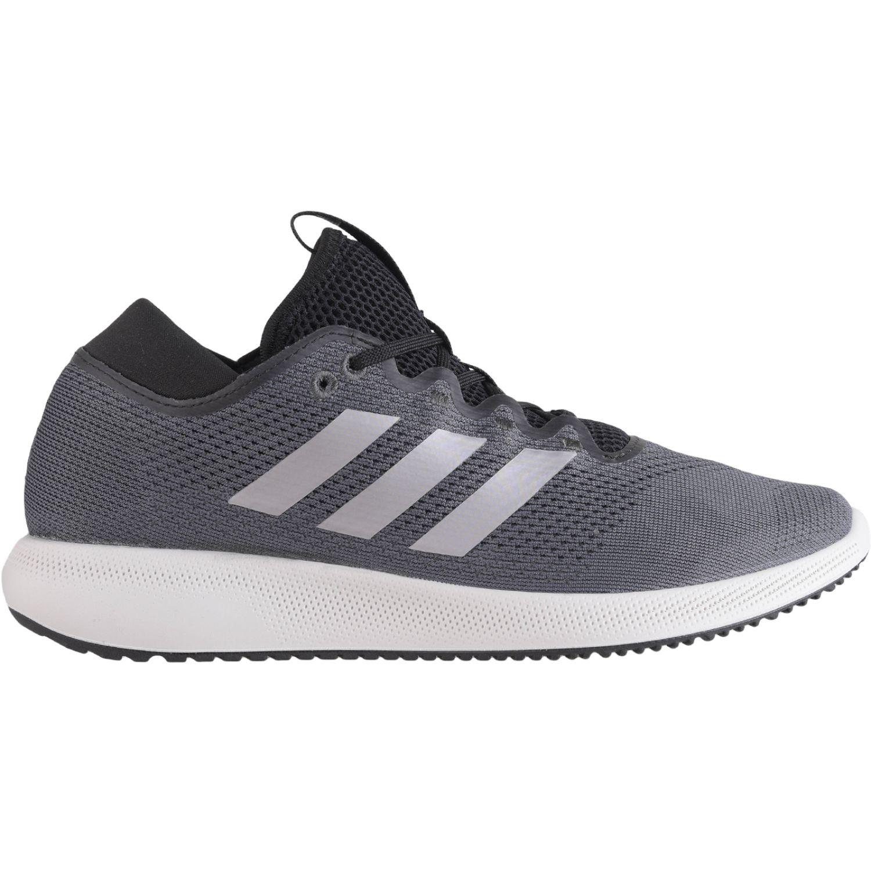 Adidas edge flex w PLOMO / BLANCO Running en pista