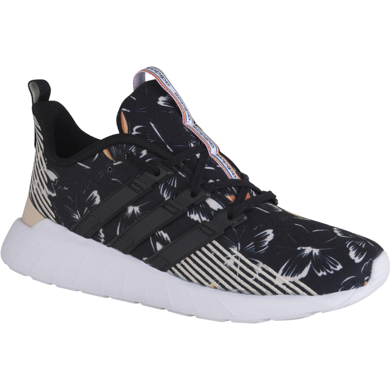 Adidas QUESTAR FLOW Negro Running en pista
