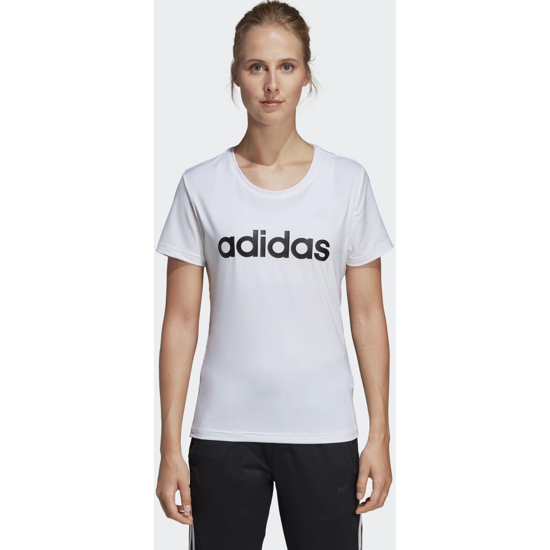 Adidas w d2m lo tee Blanco Polos