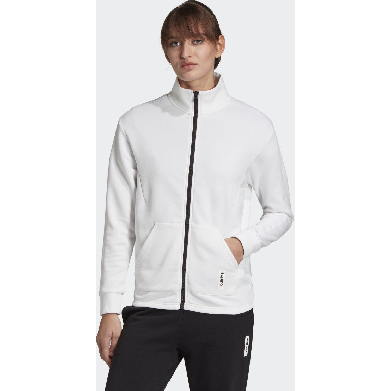 Adidas w bb tt Blanco Casacas Ligeras