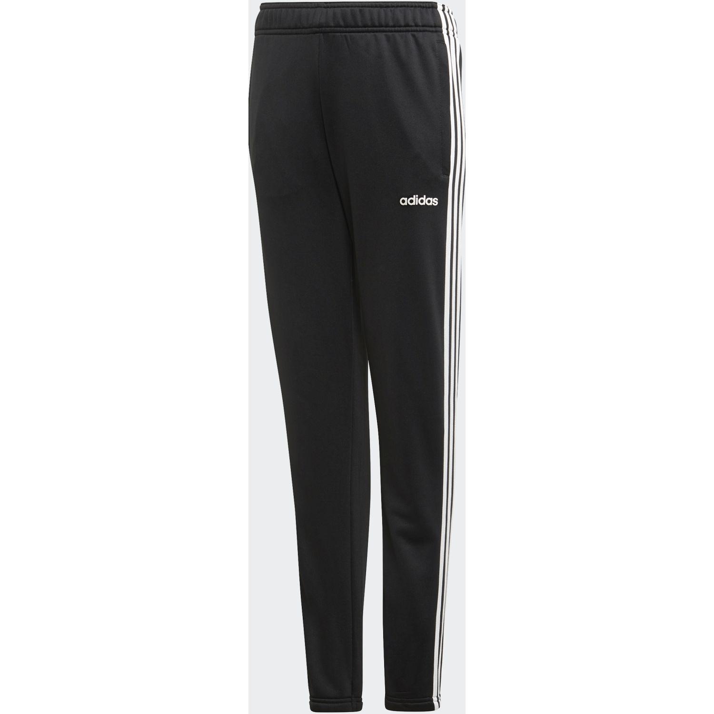 Adidas YG C Pant Negro / blanco Pantalones Deportivos