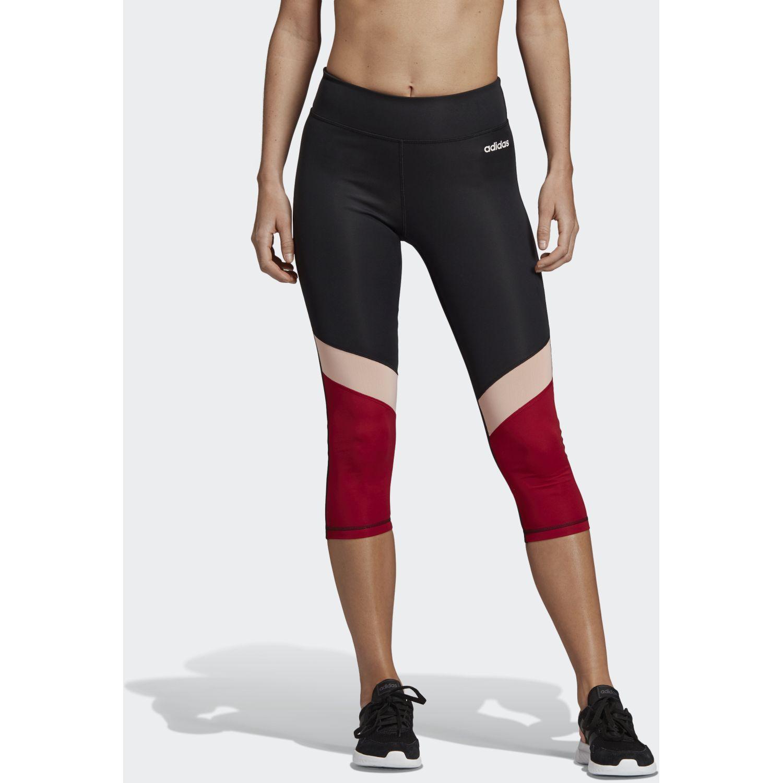 Adidas d2m cb r 34 tig Negro / rojo Leggings