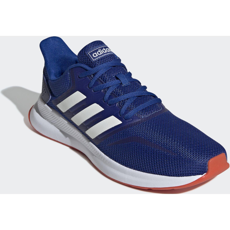 Adidas runfalcon Azul / blanco Running en pista