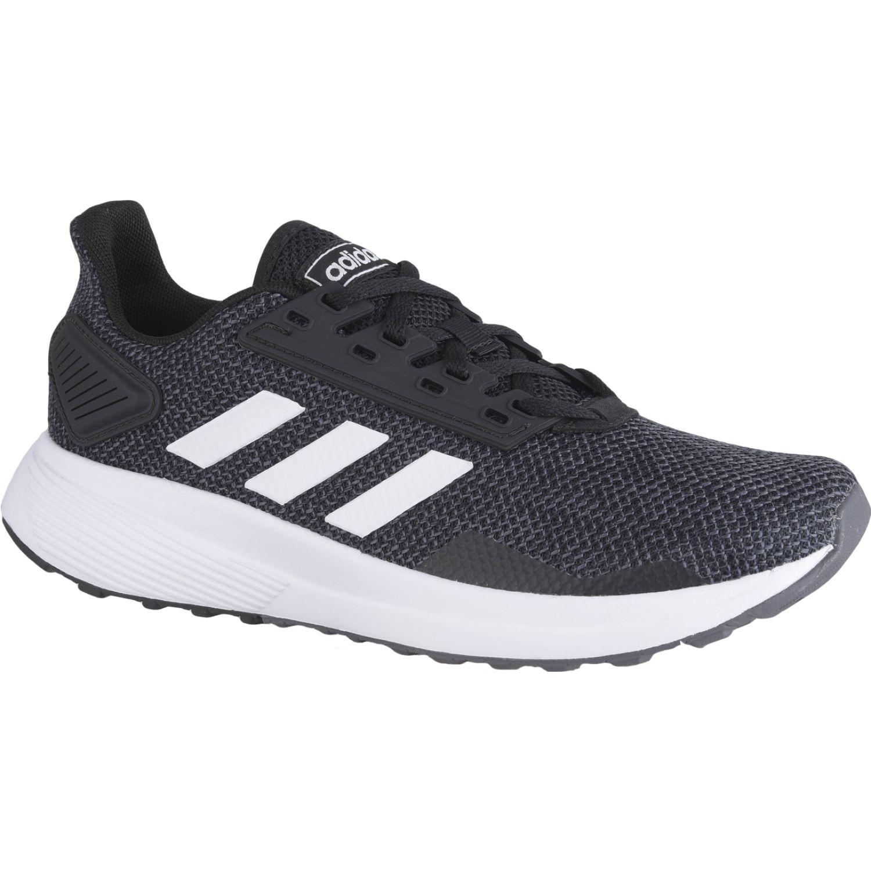 Adidas DURAMO 9 Negro / blanco Running en pista