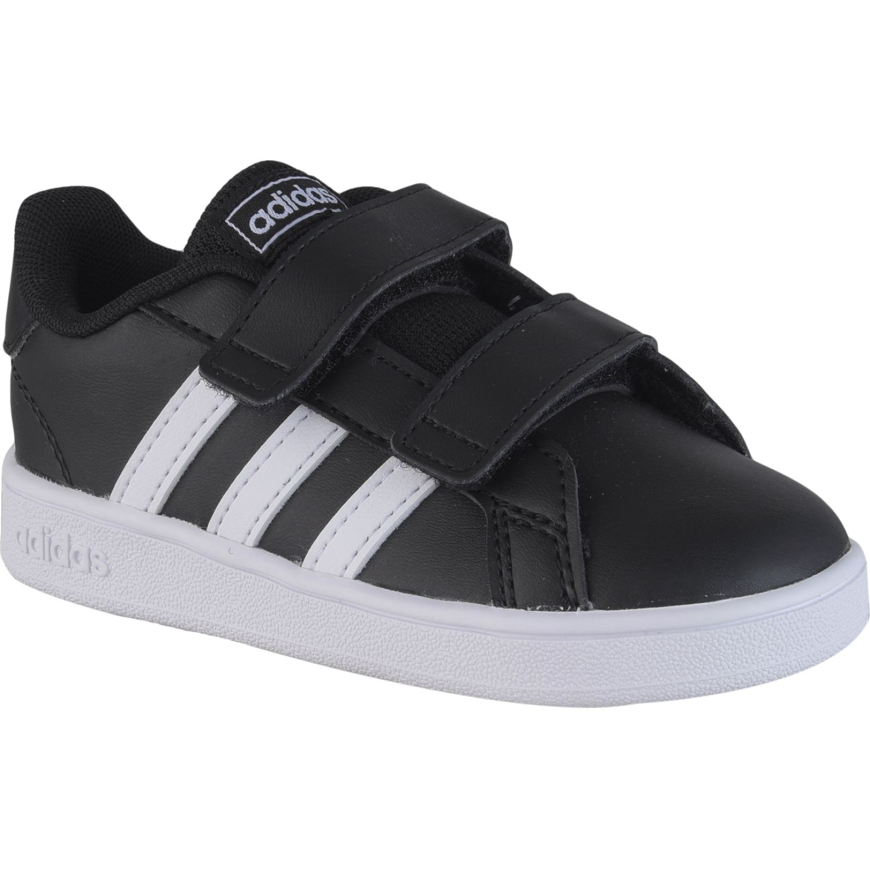 Adidas grand court i Negro / blanco Walking