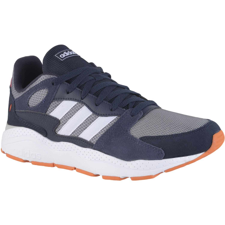 Adidas crazychaos Navy / Gris Running en pista