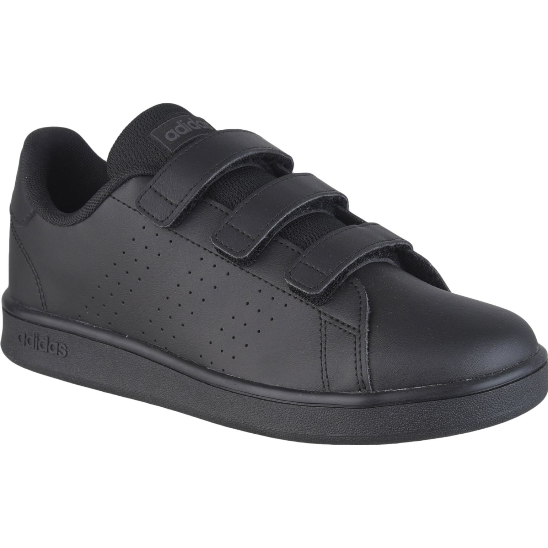 Adidas advantage c Negro Walking