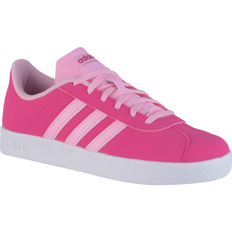 Adidas vl court 2.0 k Fucsia Chicas