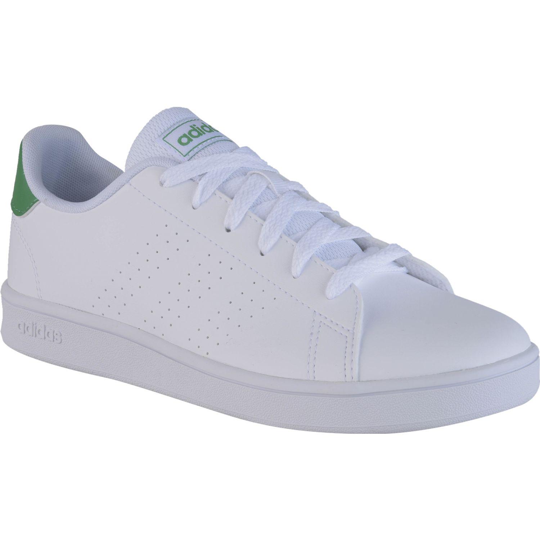Adidas advantage k Blanco / verde Muchachos