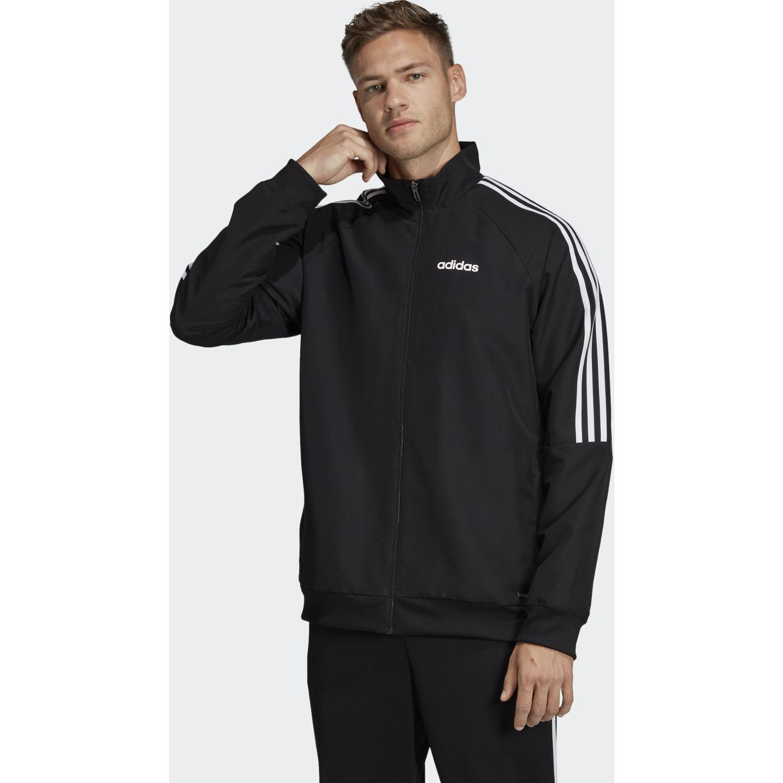 Adidas Sere19 Pre Jkt Negro / blanco Casacas de Atletismo