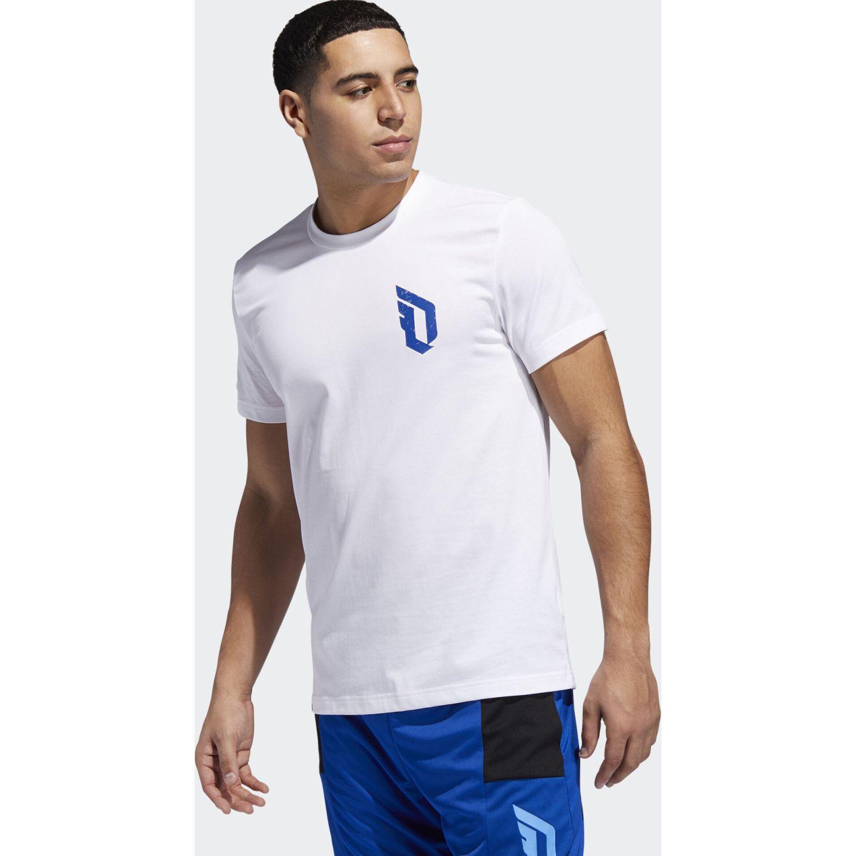 Adidas dame verb Blanco Camisetas y Polos Deportivos