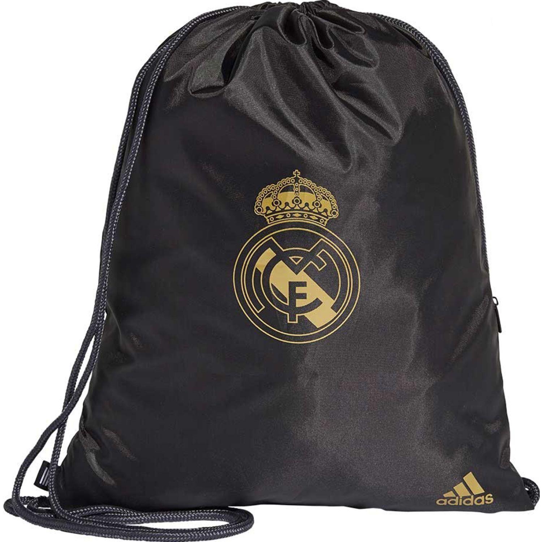 Adidas Real Gb Negro / dorado Mochilas multipropósitos