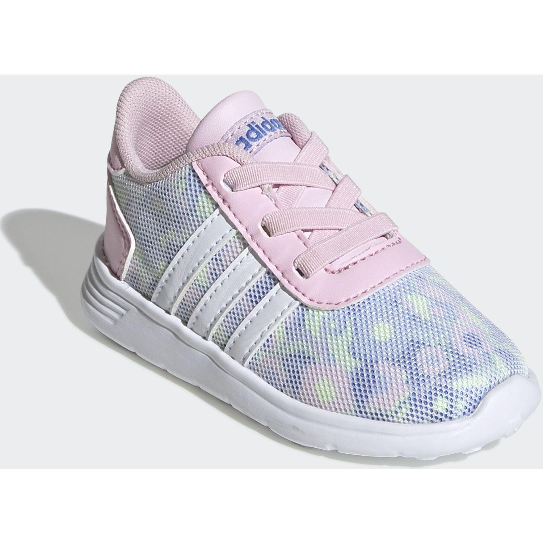 Adidas lite racer inf Rosado / blanco Chicas
