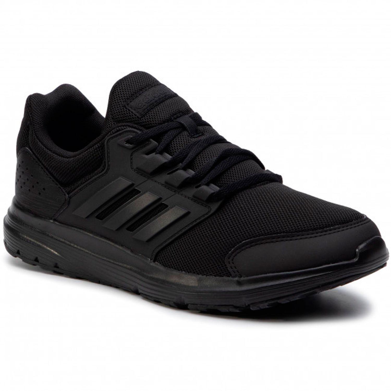 Adidas galaxy 4 Negro Running en pista