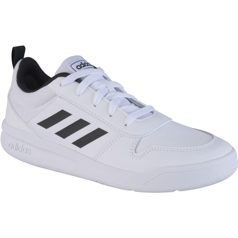 Adidas TENSAUR K Blanco / negro Muchachos
