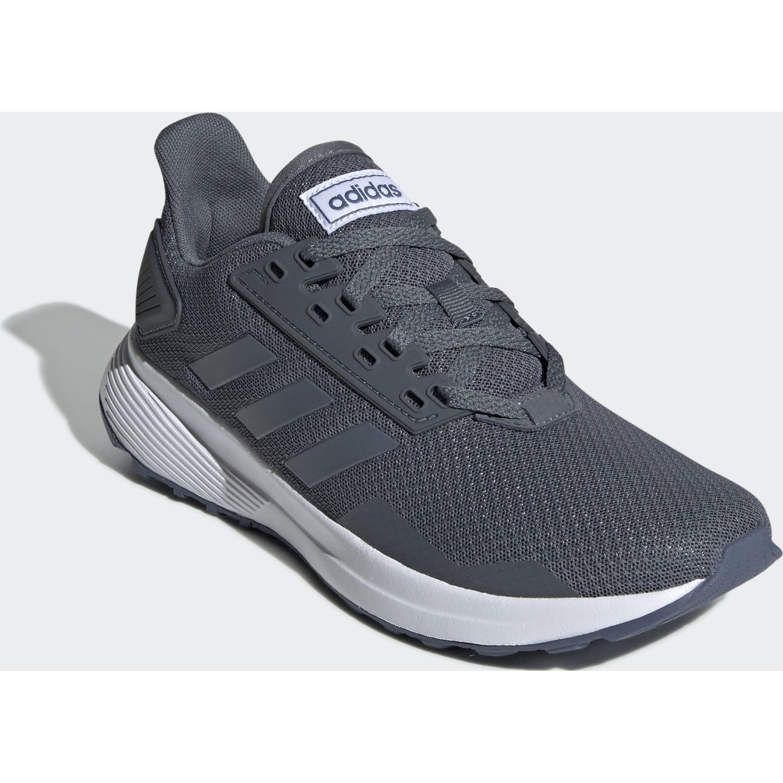 Adidas duramo 9 Gris Running en pista | platanitos.com