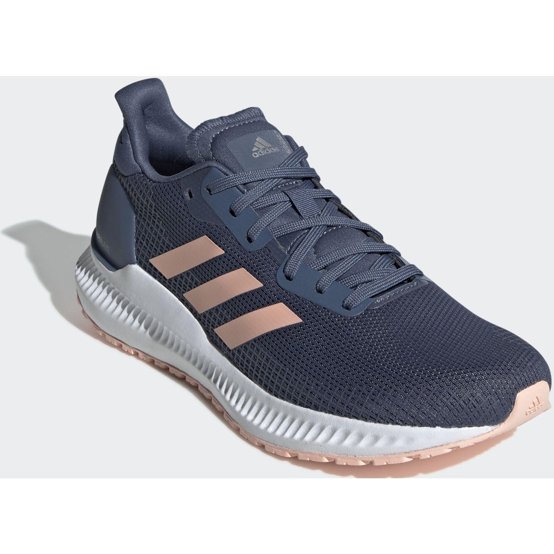 Adidas SOLAR BLAZE W Navy Running en pista