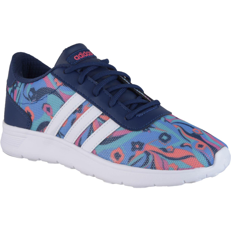 Adidas lite racer k Azul Chicas