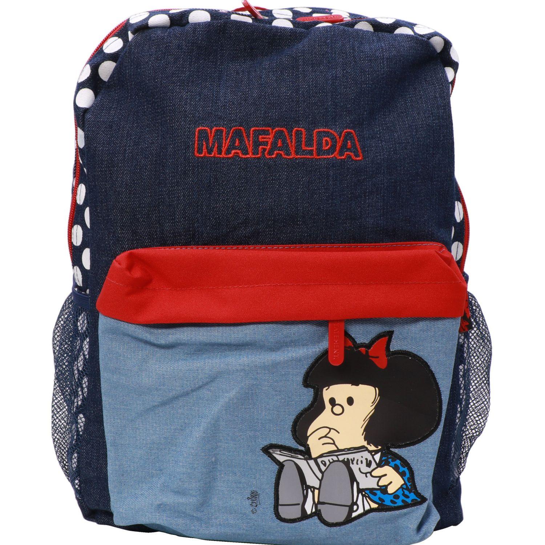 Mafalda mochila mafalda Navy / Blanco mochilas