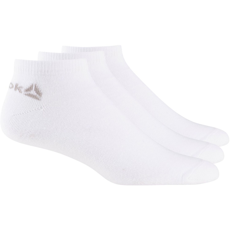 Reebok act core inside sock 3p Blanco Medias Deportivas