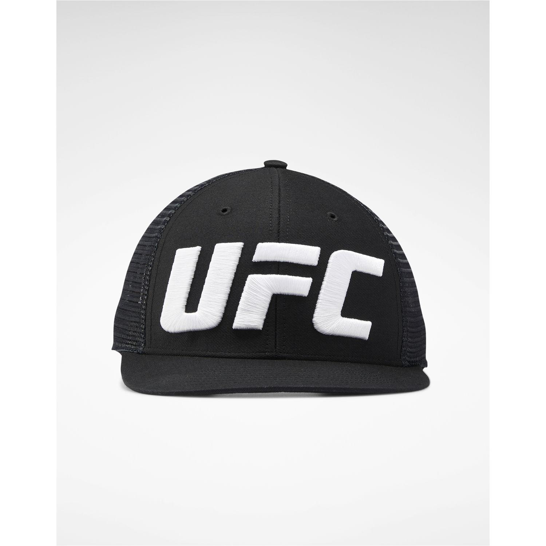 Reebok Ufc Trucker Cap (Logo) Negro / blanco Gorras de béisbol