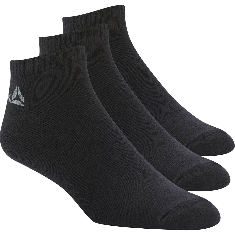 Reebok act core inside sock 3p Negro / plomo Medias Deportivas