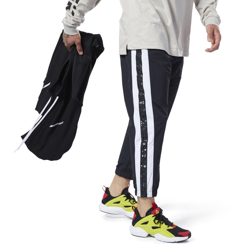 Deportivo de Hombre Reebok Negro / blanco myt 7/8 jogger