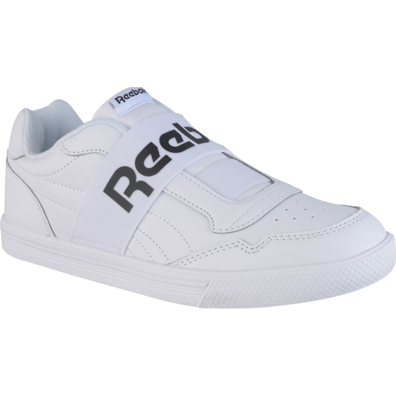 Reebok Techque T Slip On Blanco / negro Walking