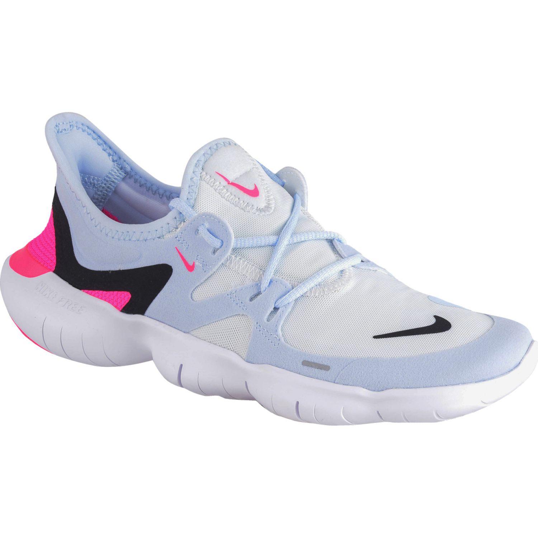 Nike wmns nike free rn 5.0 Gris / fucsia Trail Running
