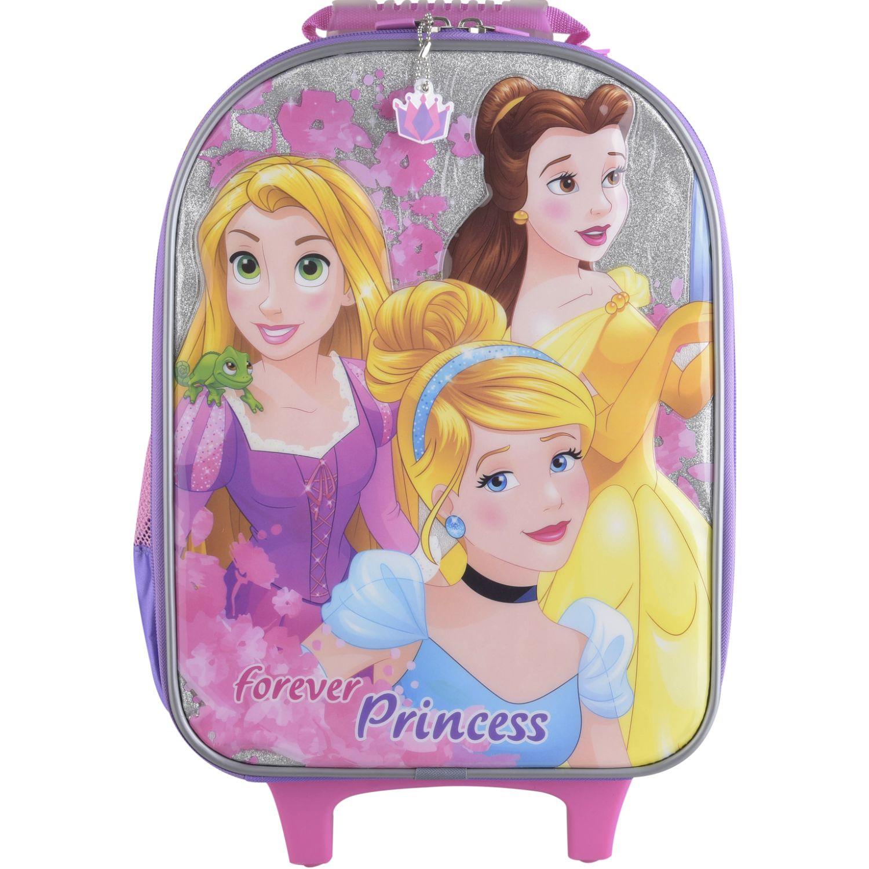 Princesas Artesco - Maleta Nido + Luces Rosado Maletas para niñas y niños