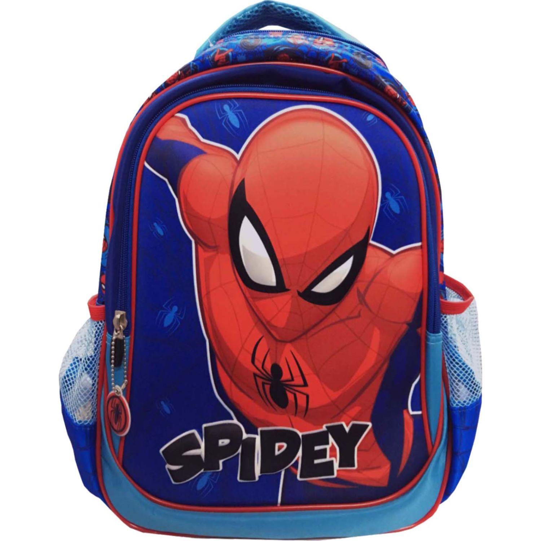Mochilas de Niño Spiderman Azul artesco - mochila nido spiderman 3d