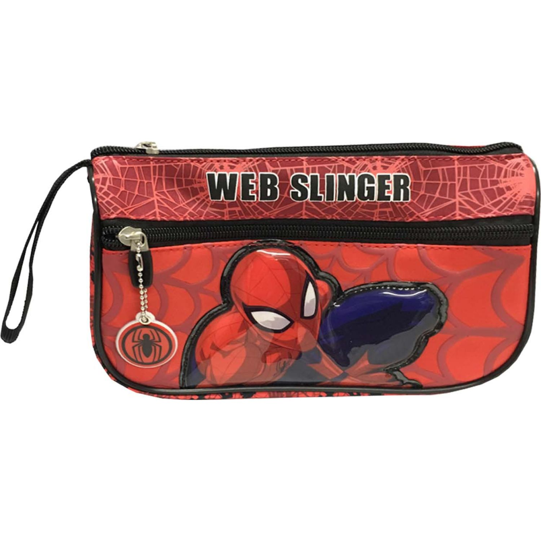 Spiderman Artesco - Cartuchera Spiderman Rojo Rojo Portalápices