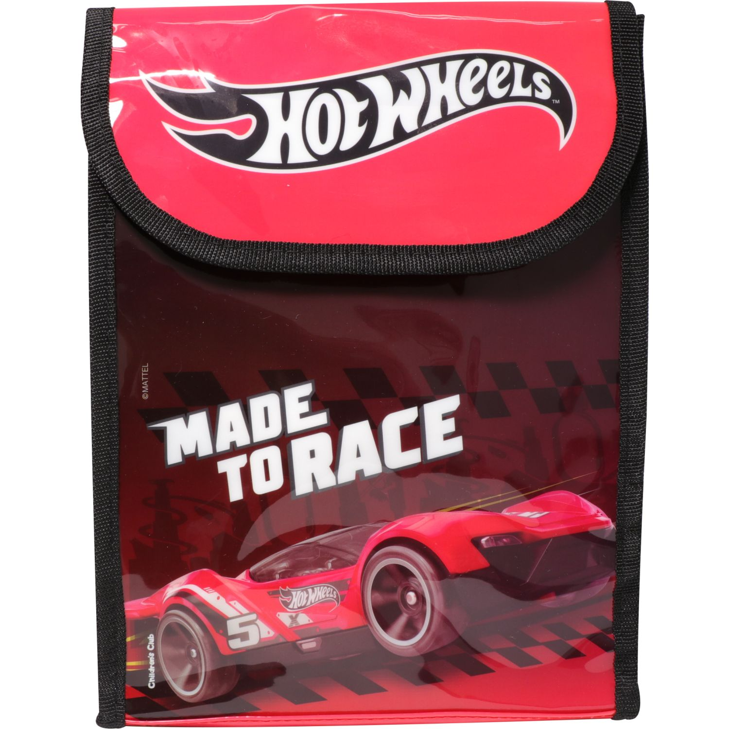 Hot Wheels LONCHERA NIÑO HOT WHEELS Rojo / negro Loncheras