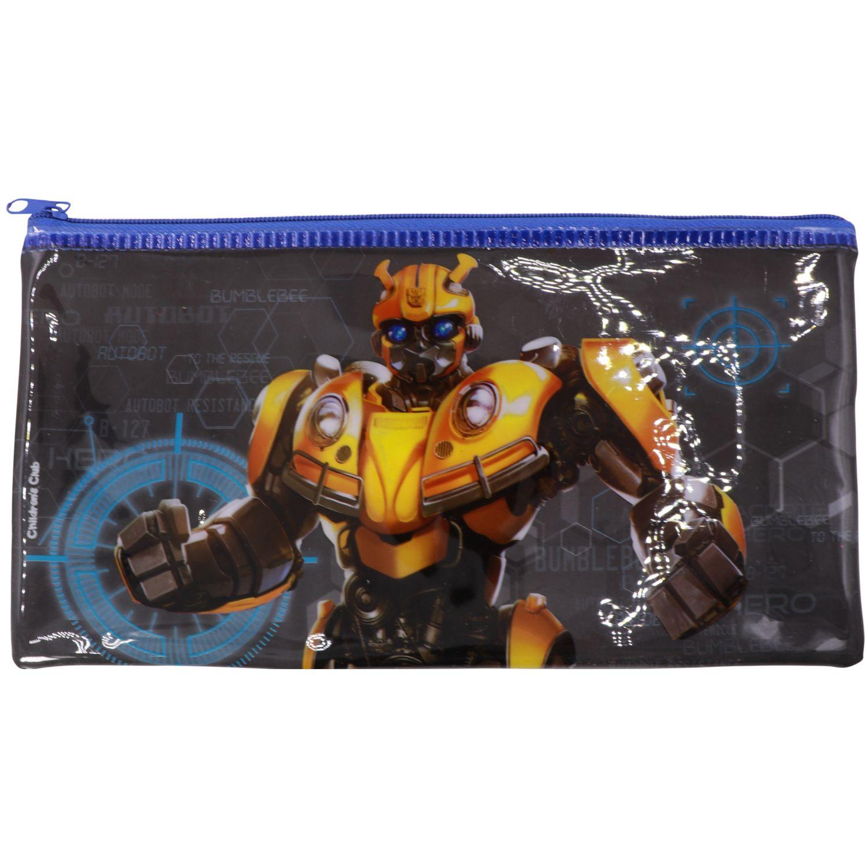 Transformers CARTUCHERA NIÑO TRANSFORMERS Gris / negro portalápices