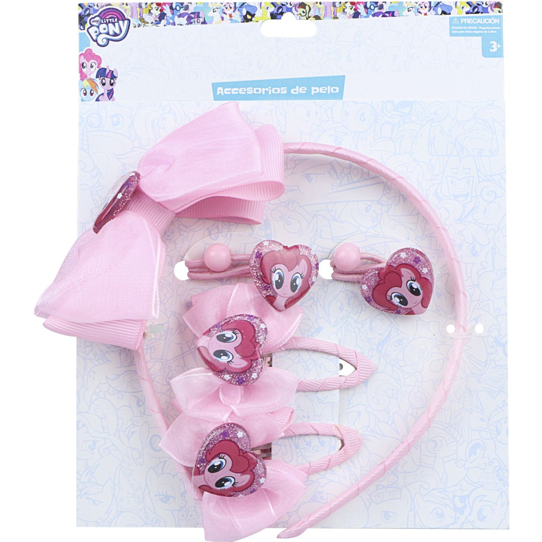 My Little Pony Set Accesorios Cabello My Little Pony Varios Cepillos para Cabello