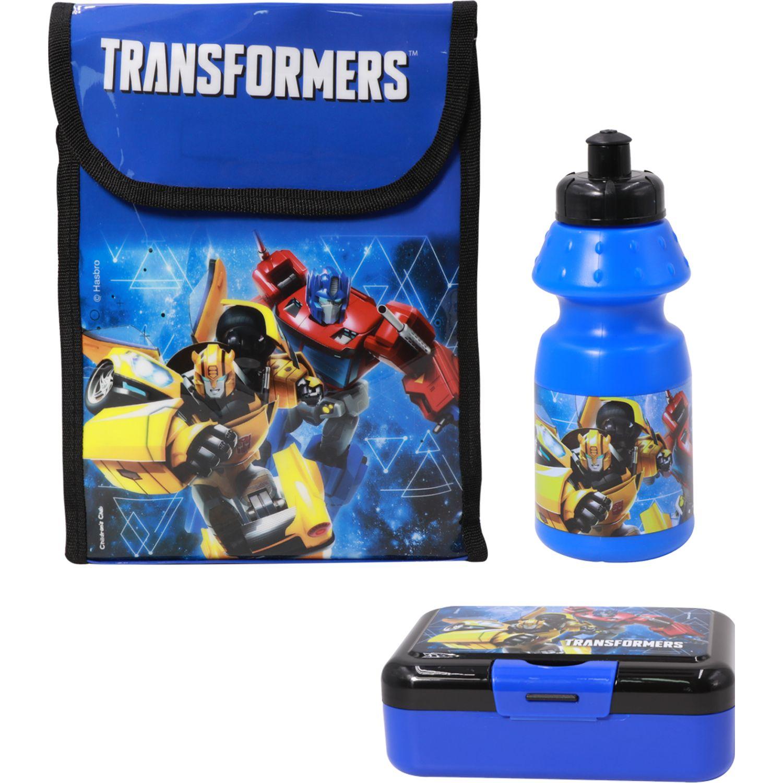 Transformers Set Lonchera Niña Transformers Azul Loncheras